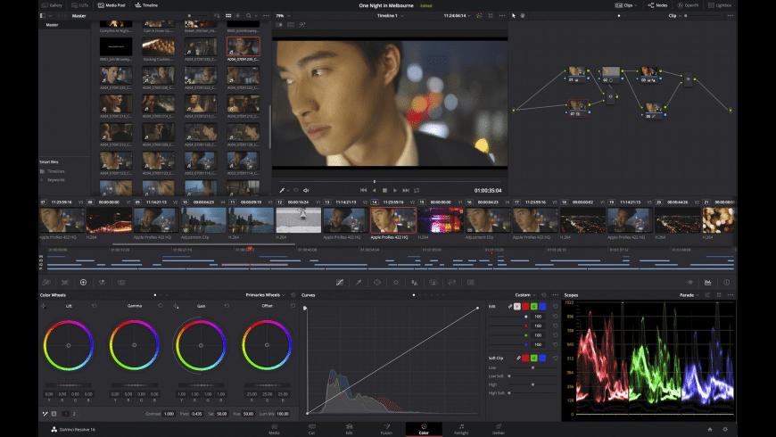 DaVinci Resolve Studio for Mac - review, screenshots
