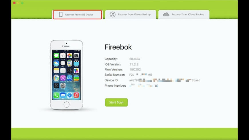 Fone Rescue for Mac - review, screenshots