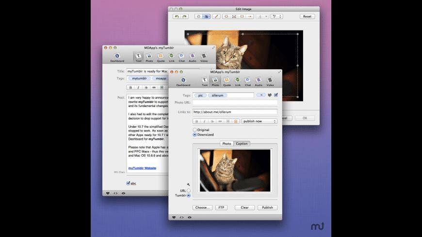 myTumblr for Mac - review, screenshots