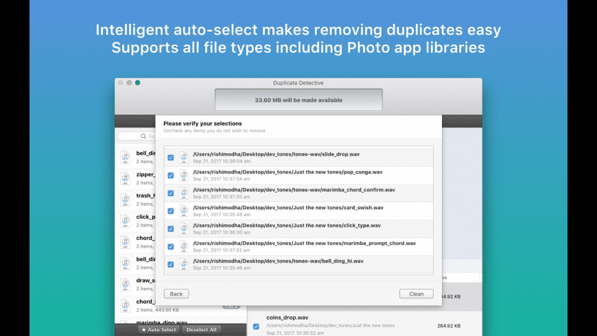 Duplicate Detective for Mac - review, screenshots