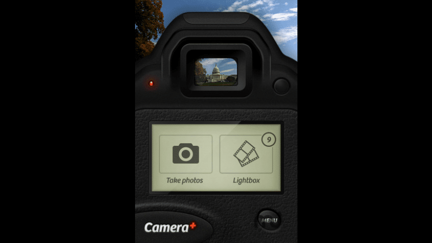 Camera+ for Mac - review, screenshots