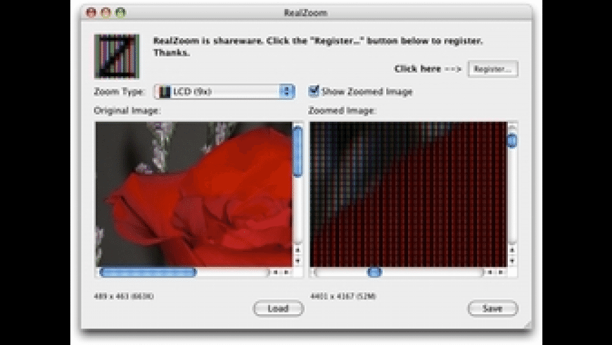 RealZoom for Mac - review, screenshots