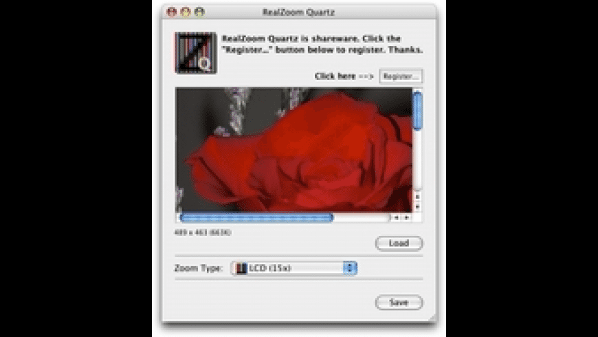 RealZoom Quartz for Mac - review, screenshots
