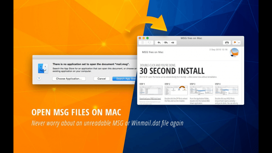 MSG Viewer for Outlook for Mac - review, screenshots
