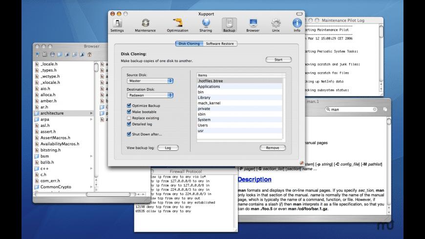 Xupport for Mac - review, screenshots