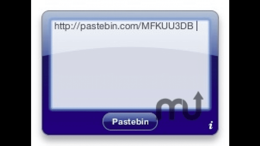 Pastebin Widget for Mac - review, screenshots
