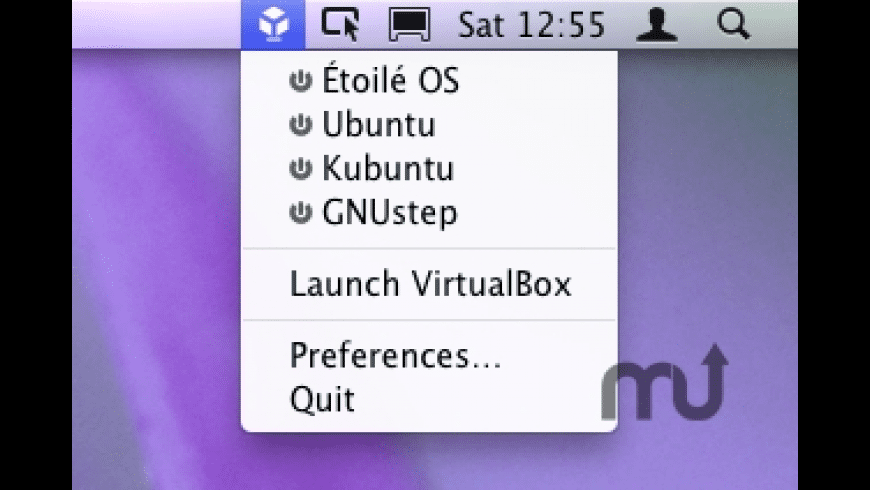 VirtualBox Menulet for Mac - review, screenshots