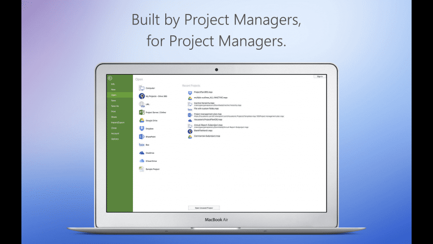 Project Plan 365 for Mac - review, screenshots