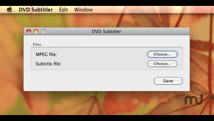 DVD Subtitler for Mac - review, screenshots