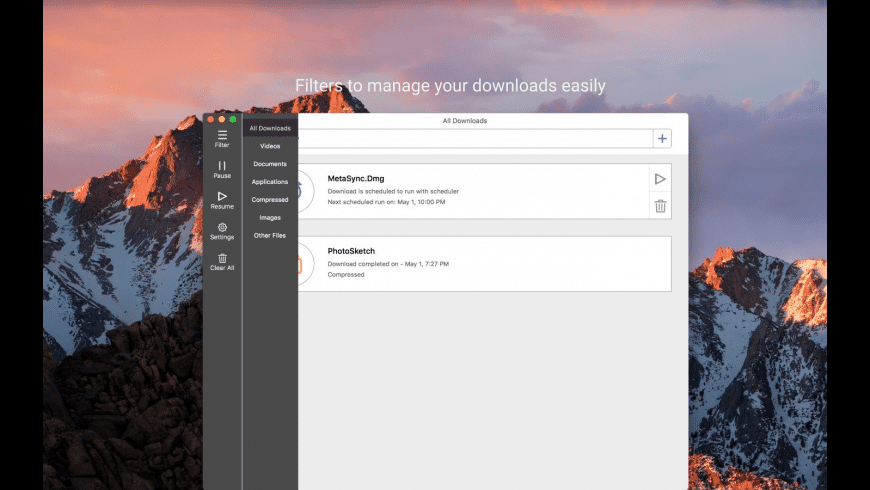 iDownloader for Mac - review, screenshots