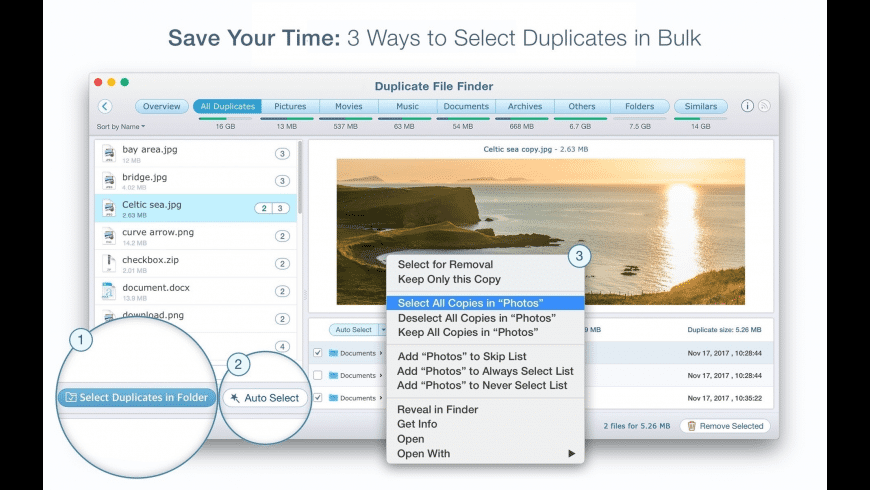 Duplicate File Finder Remover for Mac - review, screenshots
