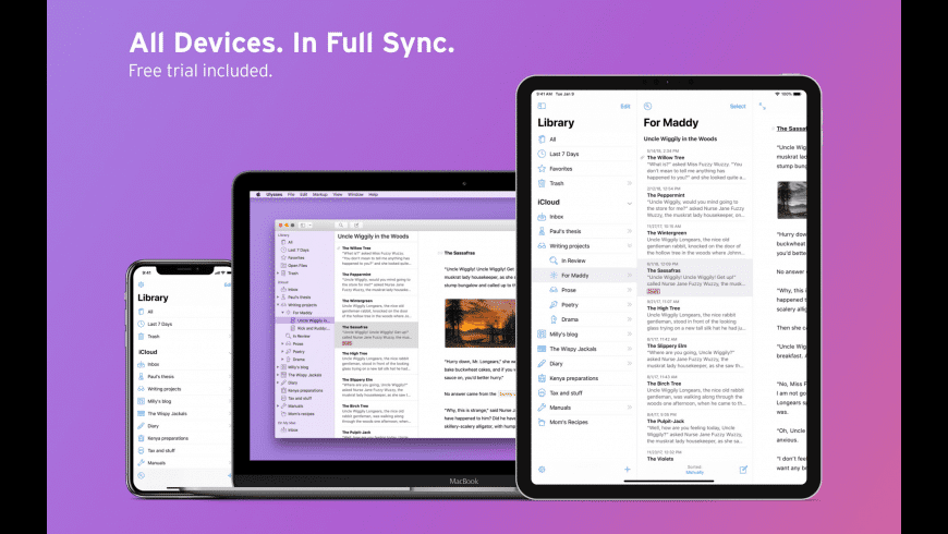 Ulysses for Mac - review, screenshots