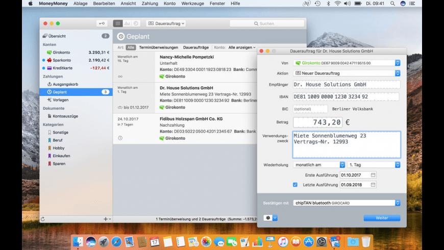 MoneyMoney for Mac - review, screenshots