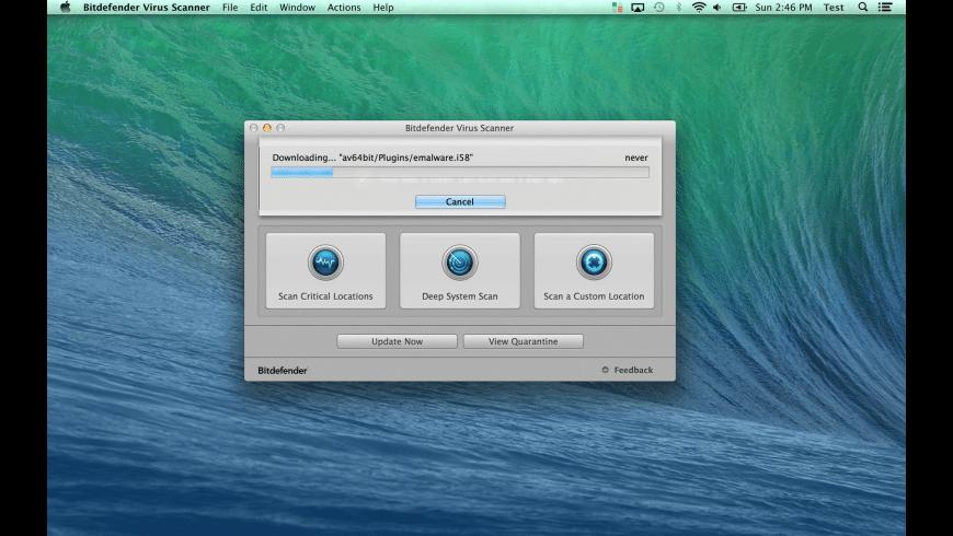 Bitdefender Virus Scanner for Mac - review, screenshots
