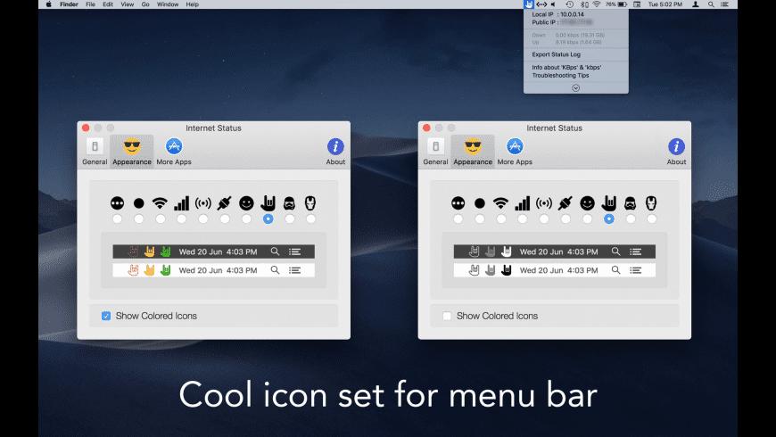 Internet Status for Mac - review, screenshots