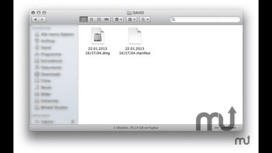 USB Backup for Mac - review, screenshots