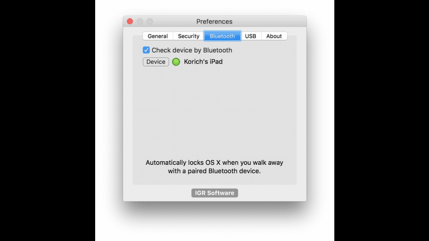 Lock Me Now for Mac - review, screenshots