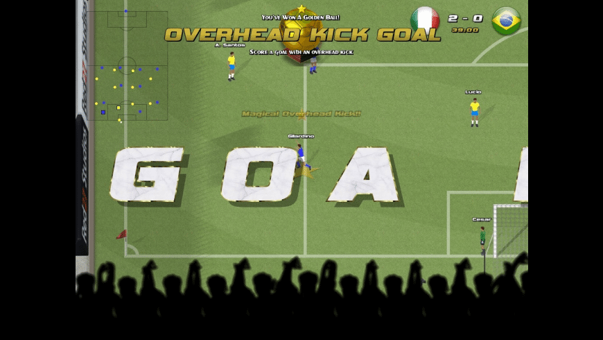 Awesome Soccer World 2010 for Mac - review, screenshots