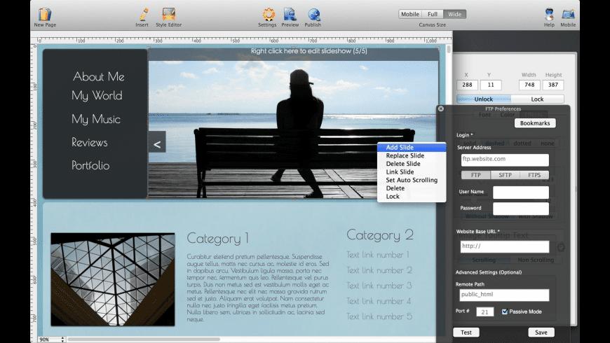 HTML Egg for Mac - review, screenshots