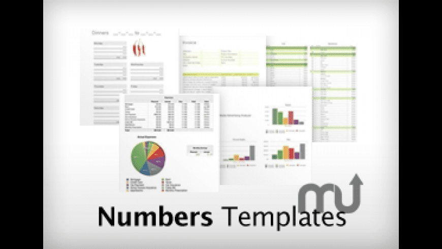 Goodies: Numbers Templates for Mac - review, screenshots