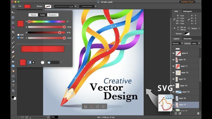 Pro Paint for Mac - review, screenshots