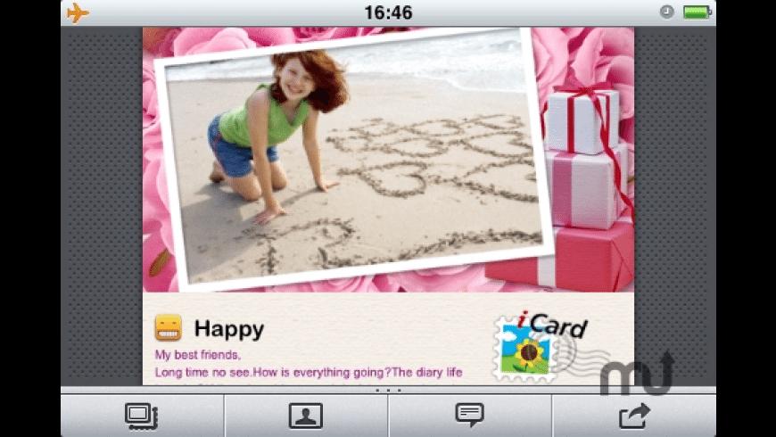 iCard 2010 for Mac - review, screenshots