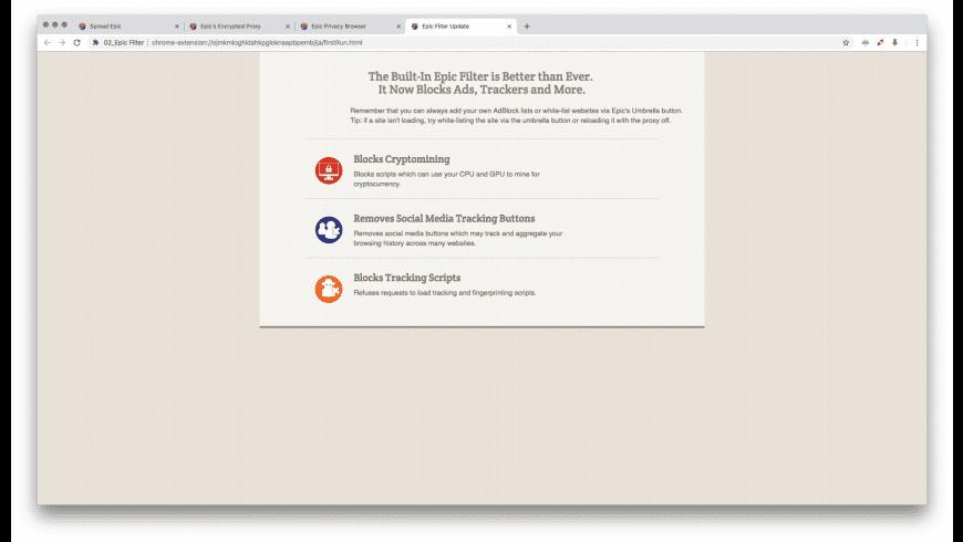 Epic for Mac - review, screenshots