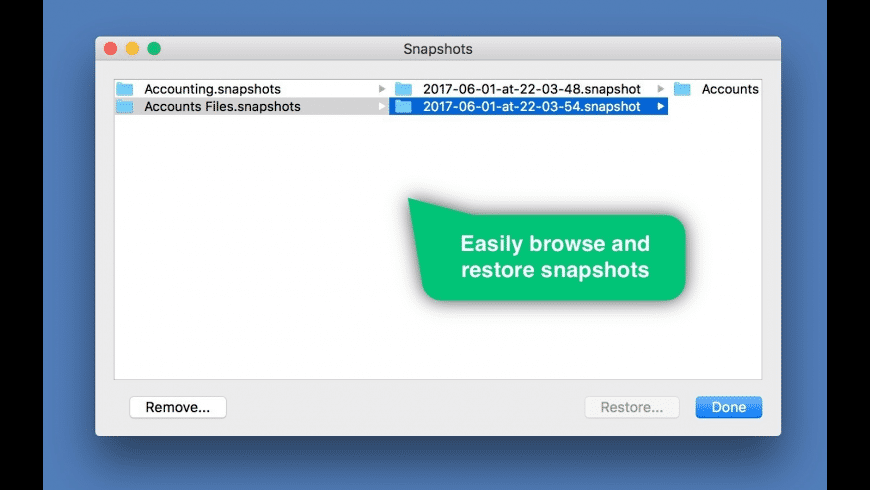 Folder Snapshot Utility for Mac - review, screenshots