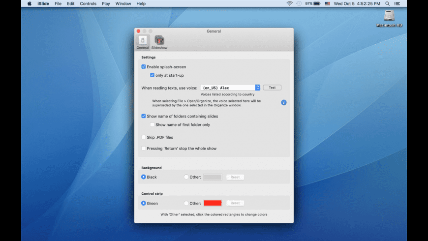 iSlide for Mac - review, screenshots