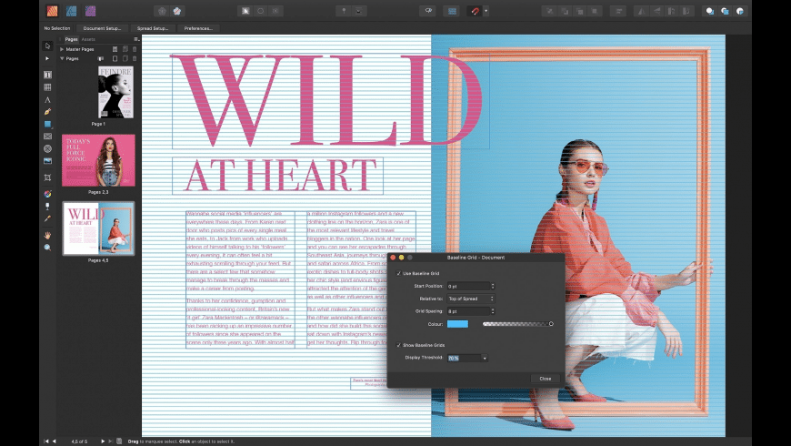 Affinity Publisher for Mac - review, screenshots