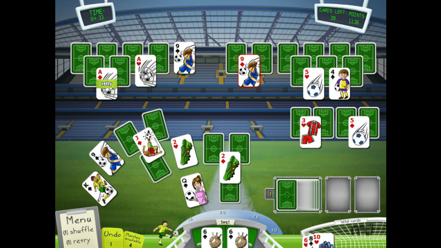 Soccer Cup Solitaire for Mac - review, screenshots