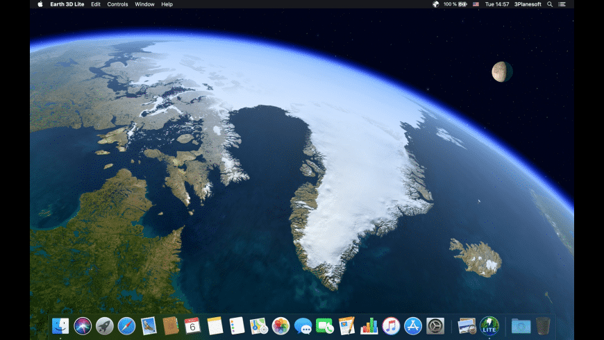 Earth 3D Lite for Mac - review, screenshots