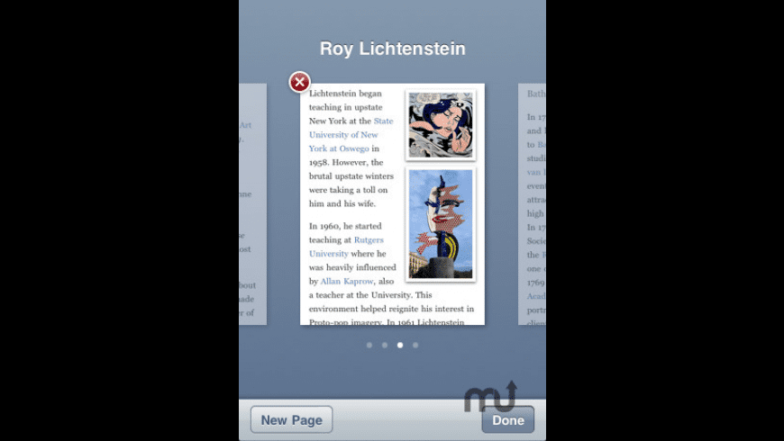 Articles for Mac - review, screenshots
