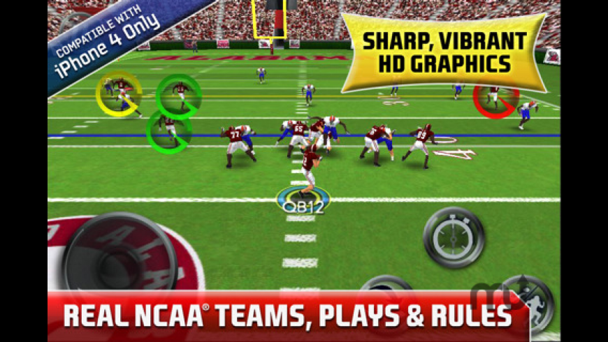 NCAA Football by EA SPORTS HD for Mac - review, screenshots