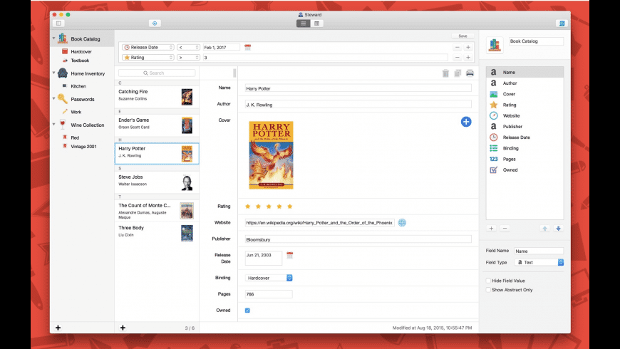 Steward for Mac - review, screenshots