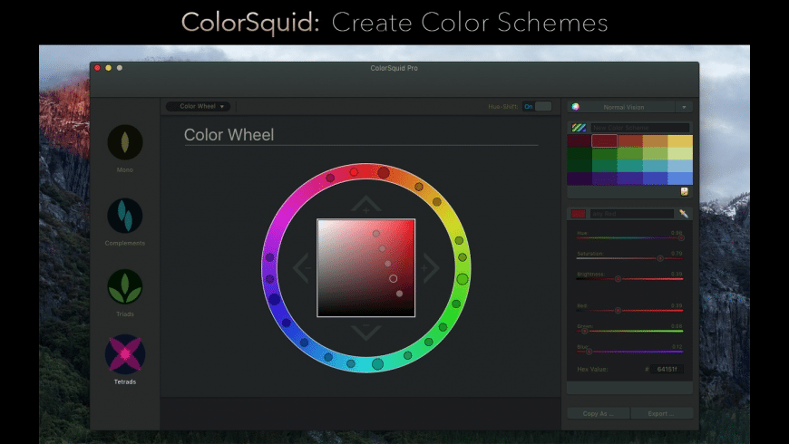 ColorSquid for Mac - review, screenshots