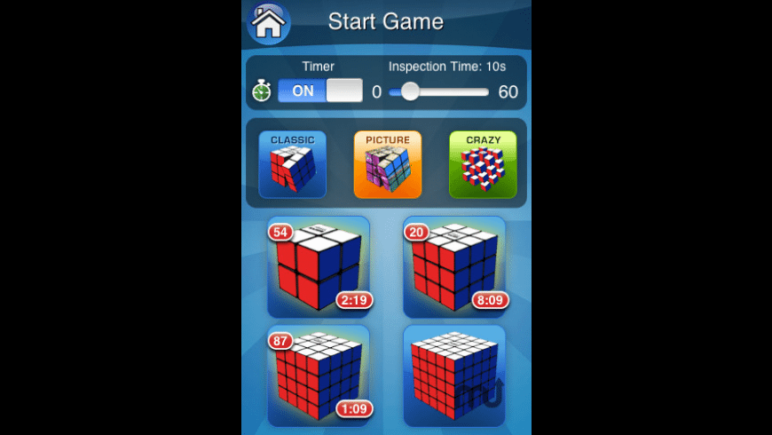 Rubik's Cube for Mac - review, screenshots