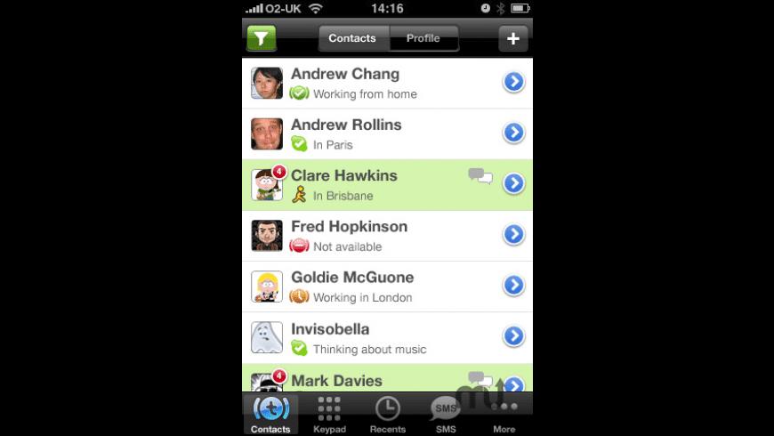 Truphone for Mac - review, screenshots