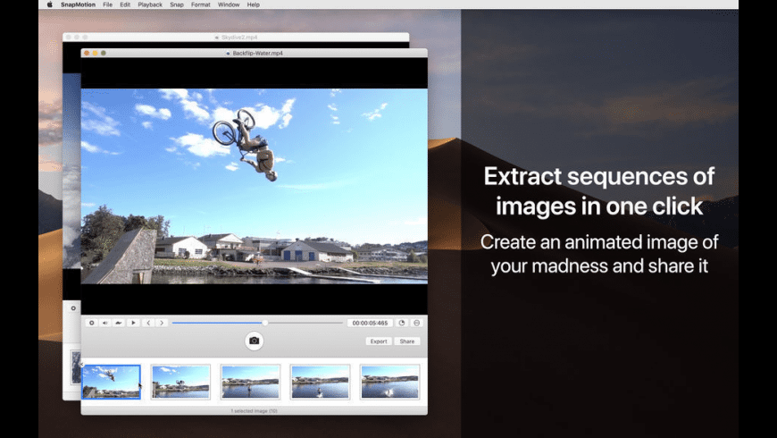 SnapMotion for Mac - review, screenshots