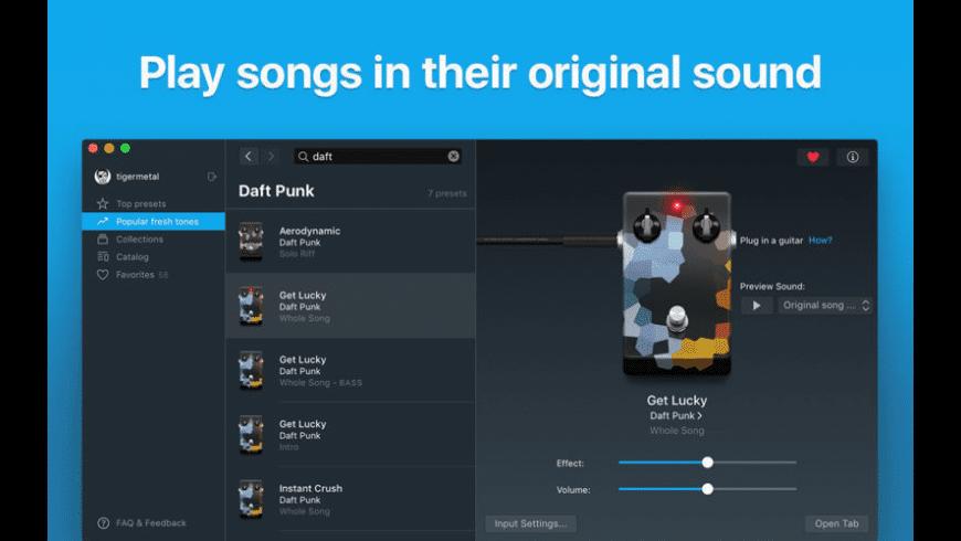 Tonebridge Guitar Effects for Mac - review, screenshots