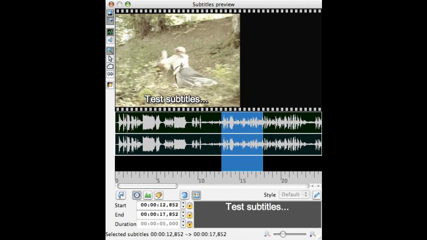 Jubler for Mac - review, screenshots
