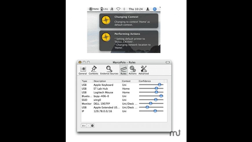 MarcoPolo for Mac - review, screenshots