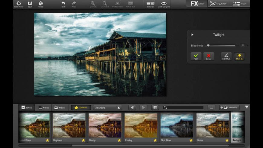 FX Photo Studio CK for Mac - review, screenshots