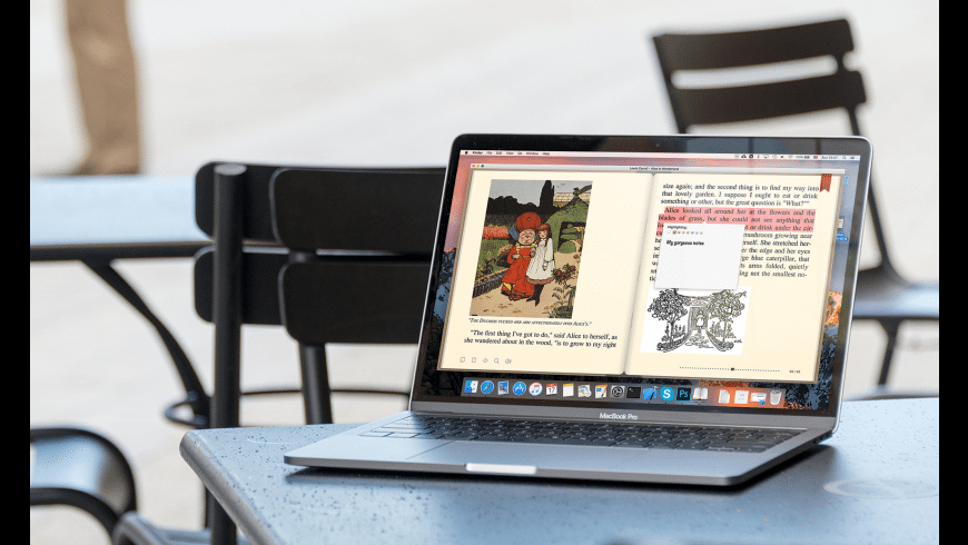 BookReader for Mac - review, screenshots