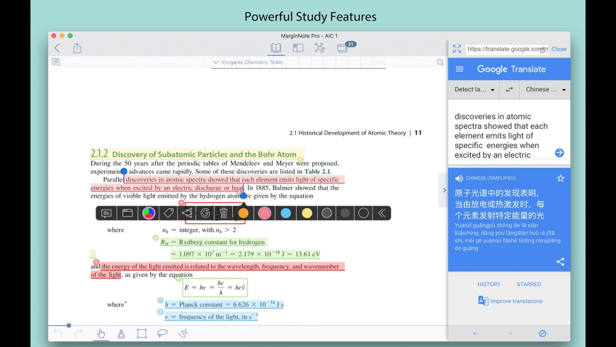 MarginNote Pro for Mac - review, screenshots