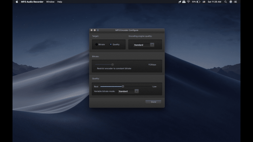 MP3 Audio Recorder for Mac - review, screenshots