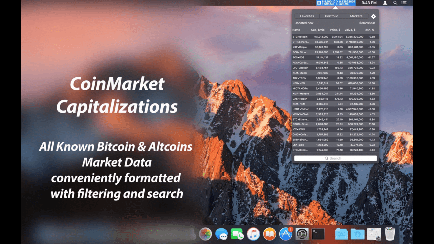 Bitcoin Expert for Mac - review, screenshots