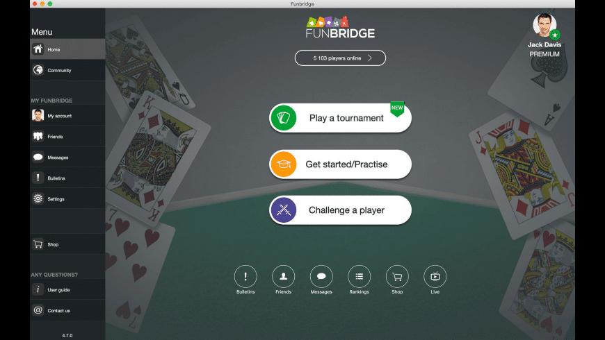 Fun Bridge for Mac - review, screenshots