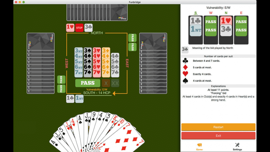 Fun Bridge for Mac - review, screenshots