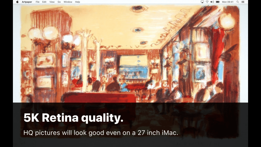 Artpaper for Mac - review, screenshots